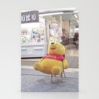 winnie the pooh Stationery Cards featuring Winnie the Pooh in Japan by somethere