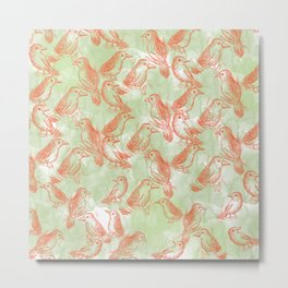 pattern 120 Metal Print