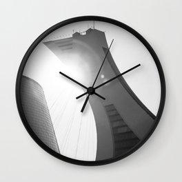 Minimalist Olympic Stadium Wall Clock