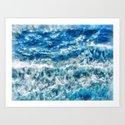 Sea foam waves by catyarte