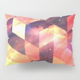 Geometric Fire Pillow Sham