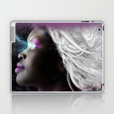 Portrait of Storm From the X Men Laptop & iPad Skin
