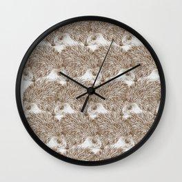 Hedgehog Cluster Wall Clock