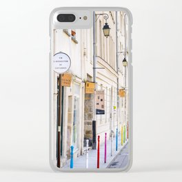 Paris Street Style No. 3 Clear iPhone Case
