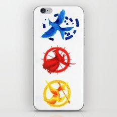 The H Games - Mockingjay iPhone & iPod Skin