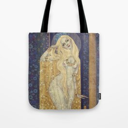 Golden Gown Tote Bag