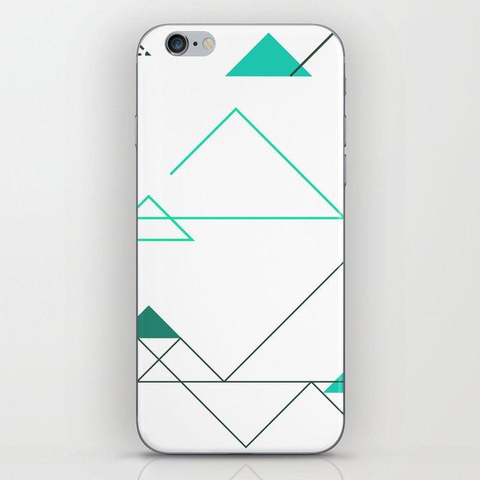Tree Angle Green iPhone Skin