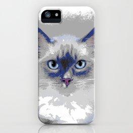 Cat 639 iPhone Case