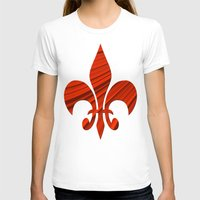 renaissance T-shirts featuring Renaissance Red by Charma Rose