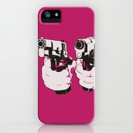 Pinkgun iPhone Case