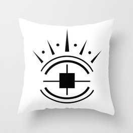 Protection Sigil Magic Throw Pillow