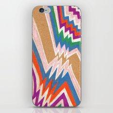 wonky chevron iPhone & iPod Skin