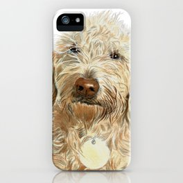 Labradoodle Ginger iPhone Case