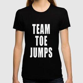 Team Toe Jumps T-shirt