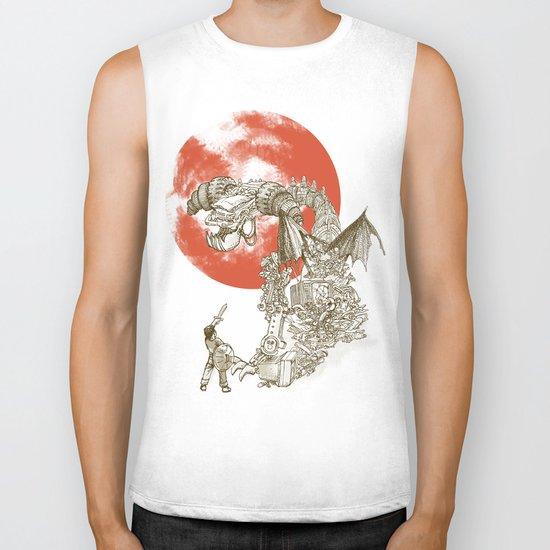 Junkyard Dragon  Biker Tank