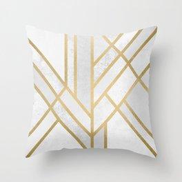 Art Deco Geometry 2 Throw Pillow