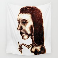 halloween Wall Tapestries featuring Halloween  by Waterbaby