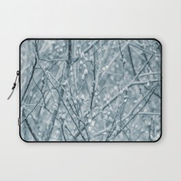 Springtime Pussy Willows Laptop Sleeve