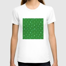 Christmas Tree Pattern T-shirt