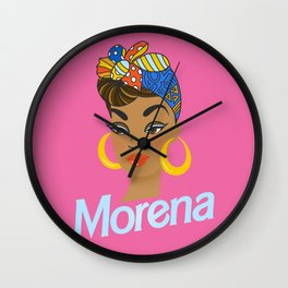 Morena Doll Wall Clock
