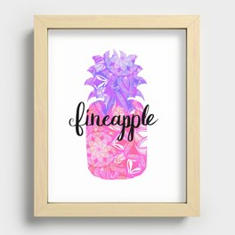 Fineapplw Recessed Framed Print