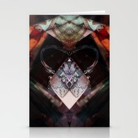 brussels Stationery Cards featuring Rorschach bag brussels belgium by KoZtar