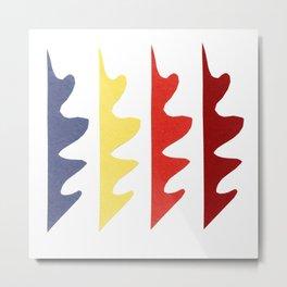 Odd shapes 3 Metal Print