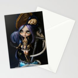 LADY BUCCANEER PIRATE OOAK BLYTHE ART DOLL Stationery Cards