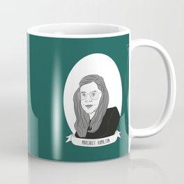 Margaret Hamilton Illustrated Portrait Coffee Mug