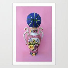 Vintage Basketball Art Print