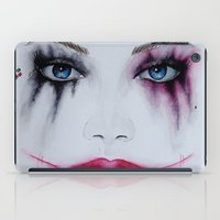 harley quinn iPad Cases featuring Harley Quinn by Halinka H