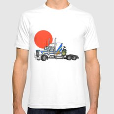 No Trouble in Little Japan Mens Fitted Tee SMALL White