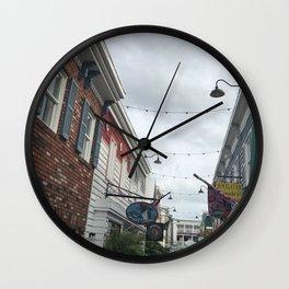 Hidden Alleyway Wall Clock