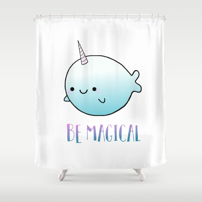 Be Magical Shower Curtain