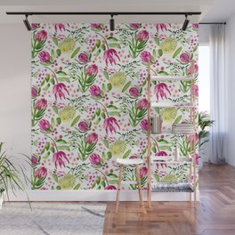 Protea Flower Bloom Wall Mural