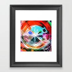 Harlekin abstrakt. Framed Art Print