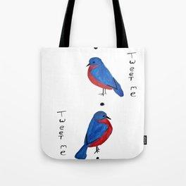 Tweet Me Tote Bag
