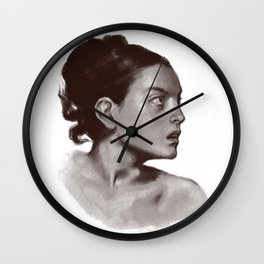 Portrait 21 Wall Clock