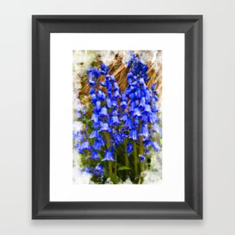 Bluebell Canvas Framed Art Print