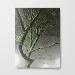 I Cannot Hit A Tree Metal Print