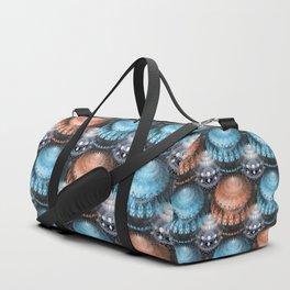 3D mandala magic - Abstract X-mas baubles Duffle Bag