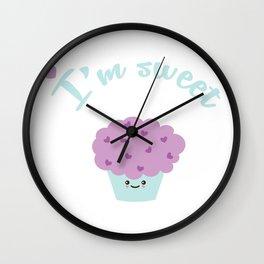 I'm sweet Wall Clock