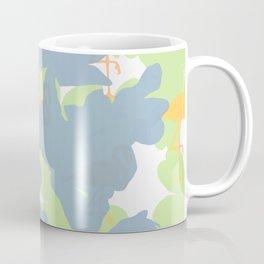 Primroses  Orange Flamingos Coffee Mug