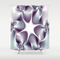 tiffany Shower Curtains featuring Tiffany by Imagevixen