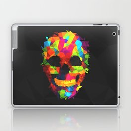 Meduzzle: Colorful Geometry Skull Laptop & iPad Skin