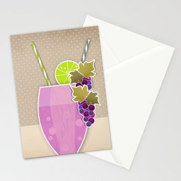 """Picture. The grape juice. From a set of paintings. The """"kitchen"""". Stationery Cards"""