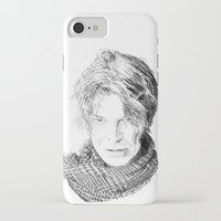 lucas david iPhone & iPod Cases featuring David by Rabassa