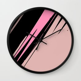 abstract / cut my love into pieces Wall Clock