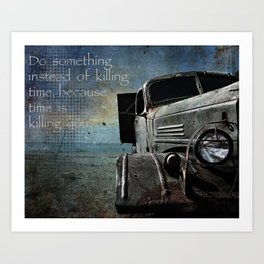 The Rust Art Print