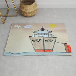 Let's Cruise! Rug